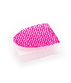 Спонжик для лица на основе медовых сот пурпурный